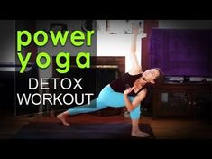 Sweaty Power Yoga Workout ~ Take it Higher - YouTube