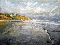 Beach alon 60x80 oil on canvas