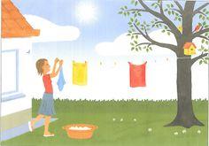 Kleuterschool Ondersteboven de boteraard: Dag van de leerkracht en een week rond doeken.