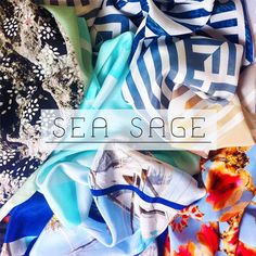 Crescida num paraíso, Amy a fundadora da marca Sea Sage, sempre foi fissurada por estampas e ao criar seus lenços, imprime em cada peça um pouco do Caribe.