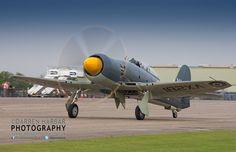 The Royal Navy Historic Flights Hawker Seafury T20 flyinglegends.com