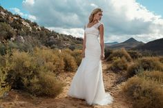 "Brautkleid Glasgow aus der Marylise Brautmoden Kollektion 2015 :: bridal dress from the 2015 Marylise collection ""Les nouvelles femmes"" by Misolas"