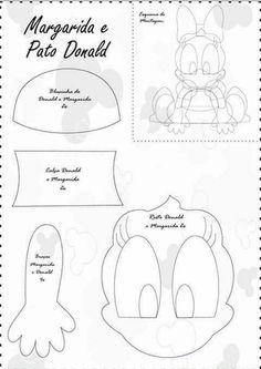 A Turma do Mickey com molde