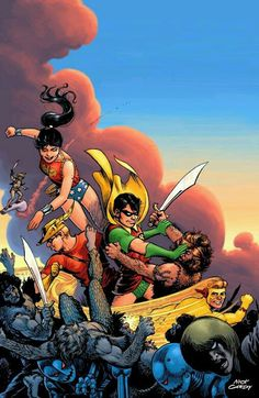 The First Teen Titans by Nick Cardy