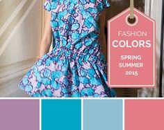 Modekleuren voorjaar zomer 2015  http://trendbubbles.nl/modekleuren-voorjaar-zomer-2015/