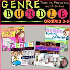 Genre bundle: contains notes, practice, performance tasks that ask students to dig deep and show conceptual understanding (can be used for assessment too), differentiated task cards, and a sorting activity!