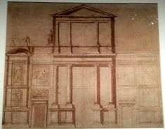 "Demonstration Drawing for the ""First Design"" of the Facade of San Lorenzo ???????????????"