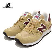 ae548eac76b4 NEWBALANCEM670SBPニューバランスDワイズ MADEINENGLAND BEIGE MAROONm670sbp送料無料 メンズ 靴 シューズ スニーカー