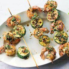 Garnelen, Zucchini und Thai-Gremolata Rezept | Küchengötter