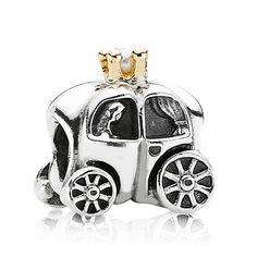 Pandora Charm Royal Carriage with 14K and White Pearl #VonMaur