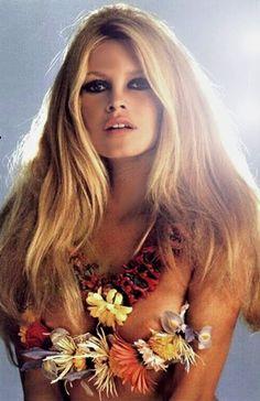 Brigitte Bardot par Sam Levin, 1967.
