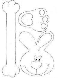 Resultado de imagen de moldes conejo