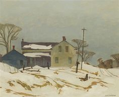 View Farmhouse in the Albion Hills by Alfred Joseph Casson on artnet. Browse upcoming and past auction lots by Alfred Joseph Casson. Painting Snow, Winter Painting, Canadian Painters, Canadian Artists, Group Of Seven Paintings, Kyffin Williams, Tom Thomson Paintings, Pierre Bonnard, Fine Art Auctions