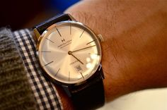 The Hamilton intra-matic Classic 50's-60's style. A lot like an vintage Omega Seamaster Deville