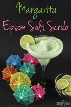 Margarita Epsom Salt Scrub Tutorial from Soap Queen. Otion: The Soap Bar.