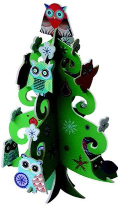 Pop and Slot Christmas Tree - its getting close to that time of year!