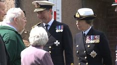 Princess Royal (Anne) and Nicola Sturgeon have today been in attendance of the Battle of Jutland commemoration event in Rosyth, a town located in Scotland.