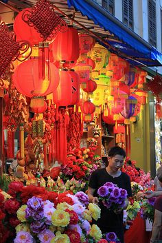 ♥ colors of Chinatown, Singapore