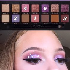 Anastasia Beverly Hills norvina palette look – Das schönste Make-up Makeup Eye Looks, Skin Makeup, Pretty Makeup, Beauty Makeup, Simple Makeup, Make Up Palette, Abh Palette, Anastasia Makeup, Anastasia Bh