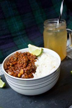 Lentil & Mushroom Chili - Vegan Sweet Pea