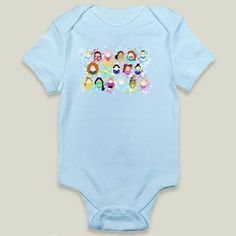 Fun+Indie+Art+from+BoomBoomPrints.com!+https://www.boomboomprints.com/Product/lauras/Tiggle_Princesses/Onesies/0-3M_Sky_Blue_Onesie/
