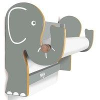 Pkolino elephant wall easel Funky Nursery for gorgeous nursery furniture, nursery cot bedding and nursery decoration, cots, cot beds and baby bedding, nursery decoration and stylish highchairs