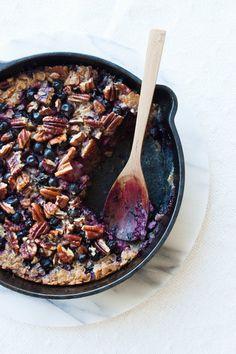 Baked Blackcurrant Ryemeal | my blue&white kitchen