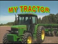 "Kids love tractors and farm trucks and farm machinery of all kinds  and this children's song is all about my tractor.  Great sing-a-long music video for kindergarten and pre-school classes and homeschool learning by James Coffey.  This clip is from ""Lots and Lots of Trucks Vol. 1"" DVD from Marshall Publishing.   http://www.marshallpublishinginc.com/lots-and-lots-of-trucks-2-dvd-set--bonus-adui-cd-as-seen-on-t2.html#.U9cjoLHLJ8s"