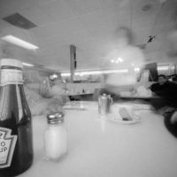 Nancy Breslin | Diner Pinhole Eagle Cyanotype, Eagle, Eagles