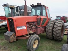 130 hp Allis Chalmers 7030 with duals