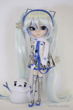 Pullip Vocaloid Snow Miku