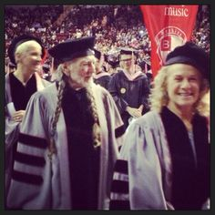 Dr. Willie Nelson, Dr. Carole King, Dr. Annie Lennox  Berklee College of Music Honorary Doctorates 2013