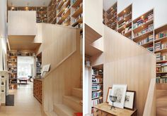 stairway book tower home