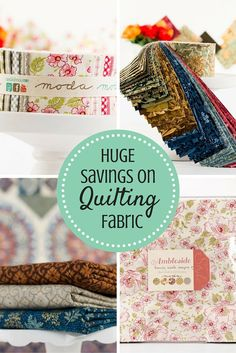 It's time to stuff your fabric stash! Craftsy is offering up to 60% off select quilting fabric, just in time for you to stock up on your holiday quilting projects! Pick your favorite design or brand, and Craftsy will ship your fabric straight to your door! Get started today.