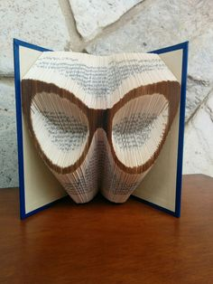 e71709e1632 Eyeglasses - Folded Book Art - Fully Customizable