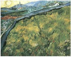 Vincent van Gogh, Field of Spring Wheat at Sunrise, 1889