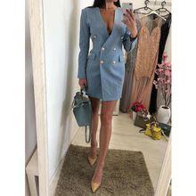 2744ba011 Galeria de blue sexy dress por Atacado