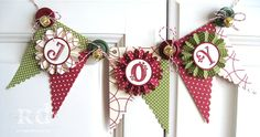 Sassy Sites!: Banners, Buntings and Garland... oh my! Kir, really like this