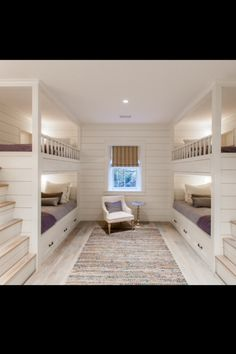 Best Bunk Beds for Kids And Teens with Storage Design Ideas This bunk bedroom with character grade white oak floors make for a perfect night in Queen Bunk Beds, Bunk Bed Rooms, Bunk Beds Built In, Cool Bunk Beds, Bunk Beds With Stairs, Kids Bunk Beds, Bedrooms, White Bunk Beds, Boys Bunk Bed Room Ideas
