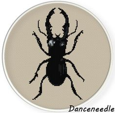 Instant  Download,Free shipping,Cross stitch pattern, PDF, beetle,zxxc0864 by danceneedle on Etsy