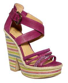 Nine West Shoes, Treston Wedge Sandals