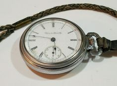 Antique Hamilton Watch 1901 Movement 131644 17Jewel Grade 925 Lancaster, PA #Hamilton