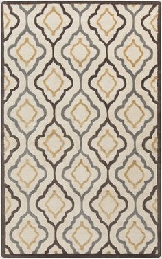 Candice Olson designed this rug for her Modern Classics Collection for Surya. Great contemporary take on a Moroccan lattice design. (CAN-2024)