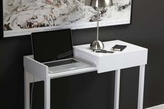 47 Practical Laptop Work Stations - From Built-In Laptop Stand Desks to Suave Tech Counters (TOPLIST)