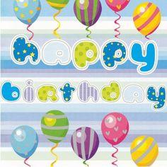 Happy birthday - bursdagskort til dugnad for idrett, sport og andre lag og forreninger Easter Eggs, Birthdays, My Love, Norway, Design, Anniversaries, Birthday, Birth Day