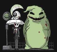 Nightmare Before Christmas /  Totoro mashup
