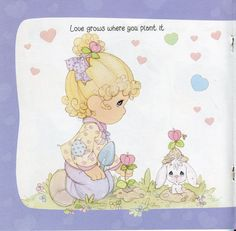 Precious Moments Some Bunny loves you - Mama Mia - Álbuns da web do Picasa Precious Moments Quotes, Precious Moments Figurines, Some Bunny Loves You, Character Base, Holly Hobbie, Beautiful Family, American Artists, Paper Dolls, Cute Pictures