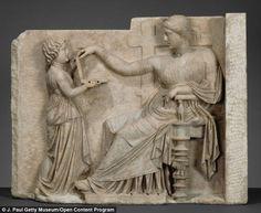 Starożytna grecka rzeźba przedstawia... laptop? czy kosmetyczkę? - Strefa tajemnic