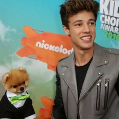 Cam and Jiff          #magcon #kca #camerondallas #aaroncarpenter #taylorcaniff #jacobsatorius #carterreynolds #magcon #love #ifb #likeit #followme #christiandelgrosso #magcon #love #likeit #crazy #kca #slimed #followme #jiffpom #jiff #cutedogs #adorable  by life._.magcon  http://bit.ly/teacupdogshq
