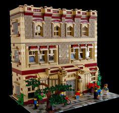 "Amazing use of the new ""brick"" bricks."